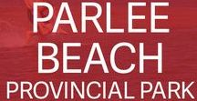 Parlee Beach Prov. Park | New Brunswick, Canada / This park boasts the warmest salt water in Canada and one of North America's finest beaches. Swim, play beach volleyball, join a sand sculpture competition or just lay back and catch some rays. Campsite reservations: https://parcsnbparks.ca/PlageParlee