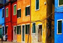 Colorful travel / We take some inspiration from colorful place around the world
