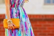 Colorful dress / We take some inspiration from colorful dress