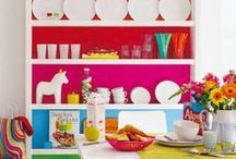 Colorful home / We take some inspiration from colorful home