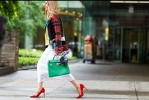 Fashion week street style / Looks from fashion week street style all over the word