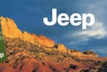 Jeep / We were asked to create an authentic outdoor brand that speaks to a Jeep owner or admirer without actually showing the vehicle and created a comprehensive branding system for licensed products featuring breathtaking panoramas as can be seen through the windshield of a Jeep. Beyond the original system, we made amendments and graphic updates to refresh the look.