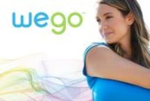 WeGo / We worked with EB Brands Fitness Division to create a new connected fitness product line at an entry level price point. Alternatives created the brand name WeGo to communicate a sense of teamwork, community and camaraderie. The identity for this full line of fitness trackers and heart rate monitors conveys a friendly, easy to use and approachable attitude. The brand identity was extended to joinwego.com, where consumers can learn more about the products and fitness app.