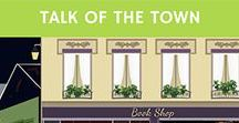 Talk of the Town / Linky, weekly, bloggers, lifestyle bloggers, book bloggers, authors, published authors, indie authors, books, giveaways, book reviews, book news, series, trilogy, research