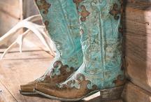 These Boots Are Made For Walkin' / I'd buy EVERY pair if I could! / by Tommie Zuñiga