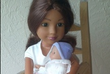 Sewing and crafting for dolls / Great ideas to sew or craft for your dolls. I like to recycle materials, especially from Christian Thrift stores.