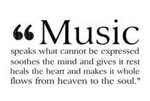 """music / """"Music always helps, no matter what you are going through."""""""
