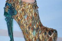 Mermaid Fins Footwear & Seashell Shoes / #shoes #boots #mensfashion #womensfashion #fashion #boho #bohemian #gypsy / by Mermaid Junkie
