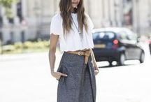 Street Style / The looks we love inspired by stylish set on the concrete catwalk.  / by ShopStyle