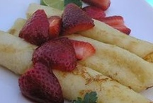 Breakfast Crepes / by Heather Montealegre