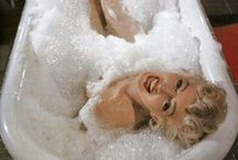 THE BATH / Happiness is taking a long hot bubble bath! If you can find someone to join you...Happy,Happy,Happy!