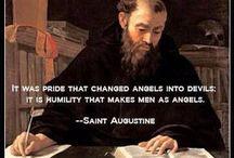 Catholic Saint  Augustine / by Heather Montealegre