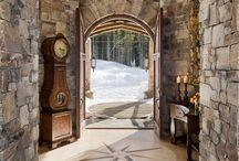 Interiors ~ Rustic/Country/Farmhouse Love