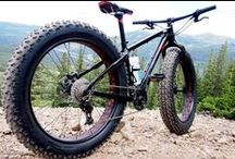 Fat Bikes / Fat bikes are the new invincible mountain bike that eats up snow, sand, mud, wet roots, rocks, and other terrain that would otherwise be impossible to ride on an ordinary mountain bike.