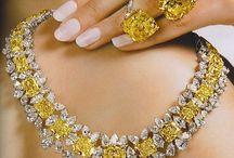 Canary Diamonds / I adore Canary diamonds. I enjoy my four carat Canary very much. They are so sunny and bright.