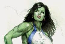 S H E • H U L K / She Hulk Smash!