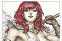 R E D • S O N J A / Everything Red Sonja
