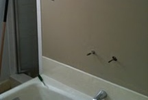 Our master bath - project, ideas, etc. / by Mary Cavanaugh