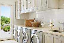 Lovely Laundry Rooms / by Kimberly Littler