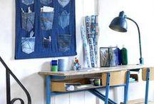 101 ideas with jeans / In het oktober nummer (2011) van 101woonideeën vindt je een DIY opbergzak van spijkerstof, je maakt het zelf in 45 minuten! Pinterest verslaafd als we zijn op de 101-redactie. Inspireerde ons dit spijkerstof tot het maken van een speciaal spijkerstof pinterest board. Op dit board kun je nog meer (zelfmaak)ideeën vinden van spijkerstof vinden. http://www.101woonideeen.nl/blog/zelfmaken-blog/zelfmaken-met-jeans.html  #denim #jeans #DIY following article in dutch interior magazine 101woonideeën
