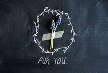 101 ideas with chalkboard