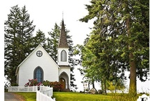 Center Church at Lopez Island, San Juan Islands, Washington / Center Church at Lopez Island is a beautiful historic church, a perfect place for a wedding in the San Juan Islands. These wedding pictures were shot by Evrim Icoz Photography. http://www.evrimgallery.com