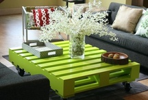 Creative ways to recycle pallets / All the amazing ways that you can repurpose crates and pallets.
