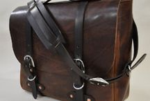Men's Bags / I really love the leather bag. Especially the postman bag. I had so many ideas from this board as I finally made my custom leather messenger bag.