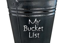 My bucket list / things to do in life