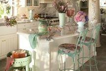 Shabby Chic Kitchens / by Julianna Humphreys