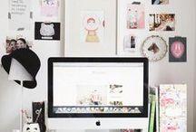 work space / atelier