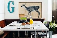 D I N I N G / Inspiration and Products for My Dining Room