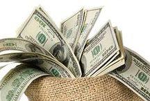 Money Makes the World Go Round / Frugal tips and money making strategies.