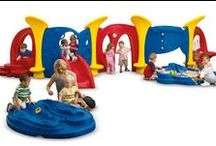 Early Years Play / Pint-sized, developmentally optimized play equipment that's big fun for a younger age group.