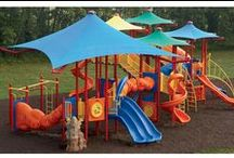 Shade for your Playground / by Playworld Systems Inc. = play equipment