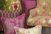 Chairs, Pillows, and Fabrics / by Leah