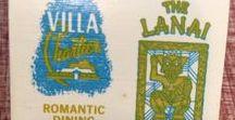 Tiki & Hawaiiana /  Tiki Mugs, Bars, Trader Vic's & Hawaiian Shirts, Hawaii Souvenirs