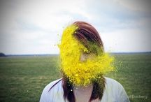 Yellow Things / Beautiful art and images dominated by the color yellow.  / by Allison Rau