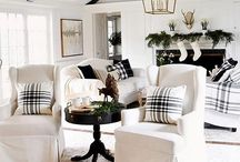   Living Room Inspiration   / Living room decor + inspiration, chic home decor, rustic decor, industrial chic, French country, living room and home decor inspiration, modern, white, metal, country decor