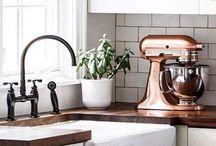   Dream Kitchen   / Dream kitchen decor and inspiration, modern kitchen, rustic kitchen, industrial chic, Magnolia, shiplap, ship lap, modern rustic kitchens, kitchen ideas, white, grey kitchen