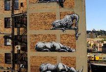 Johannesburg Street Art / Stuff I see in my City