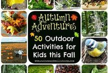 Autumn Projects / Crafts and activities for Autumn days with kids