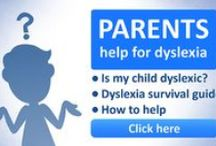 Parent & Homeschooler Resources for Dyslexia / Helpful hints and tips for parents with dyslexic children. Things to bear in mind when you help your child learn to read, write and spell