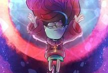 Gravity Falls / Wonderful cartoon! Many puzzles, very mysterious and phenomenal! One of the best I've been watching <3