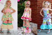 Girl outfits I am inspired by! / ideas for clothing for my grandaughters! / by Sheila Burgess