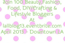 Latina Lifestyle Bloggers Collective (www.llbloggers.com / T: @LatinaLifestyle - #LLBlog) / We are the only Latina Lifestyle Blogger Collective, and the proud home of more than 300 fashion, beauty, travel, entertainment, food, art, home decor and other lifestyle-topic bloggers.  Join and work with our community here: www.llbloggers.com.   / by Ana Lydia Ochoa-Monaco