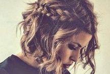 Hair - style / #hairstyle  #diy #tutorial #scarf #bangs #braid #dreads