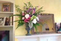Interior Decorating and Flowers / Ideas from floral designer Madeleine Elmer of Fleur de Vie on how to incoporate fresh flowers that complement your interior design and outdoor living spaces.  / by Fleur de Vie