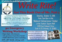 Events / Events featuring Sharlyne C. Thomas, award-winning author, inspirational speaker and professional editor