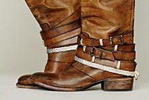 Boot Love / by Hillary Fisher ♆ HF Creative